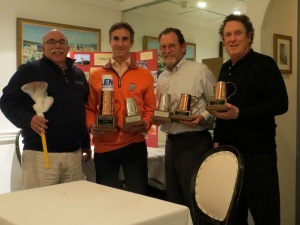 Kup Winner Len The Plumber-2nd PC Cohen-3rd Neal Bobys