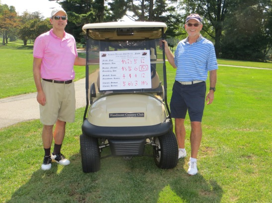 Don Greenberg and Rick Brecher came from behind to win the A;t-Shot Championship Series