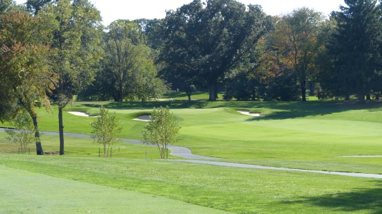 #9 Kemo Sabe-after a blind drive up into the 11th fairway it is a full metal carry across to the 10th green