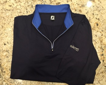 1/2 Zip Long Sleeve Pullover with stand up collar