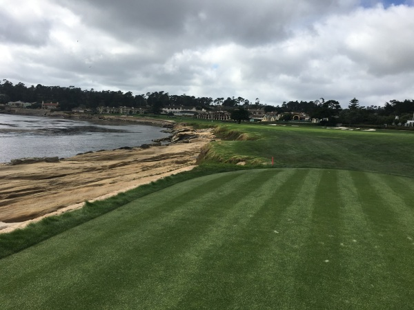 18th Tee at Pebble