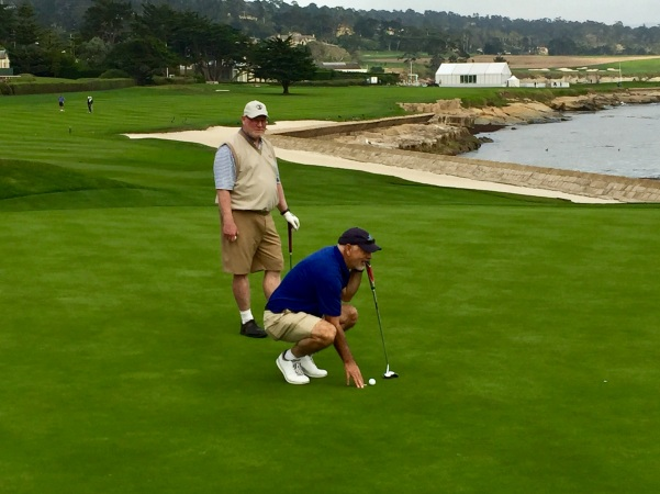 Schwartz and Hechinger on 18 Pebble