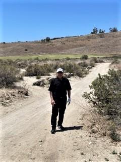 Chet At Rustic Canyon Cart Path 2021