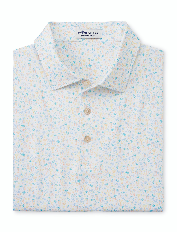 Millar Arnold Palmer Half & Half Print Shirt