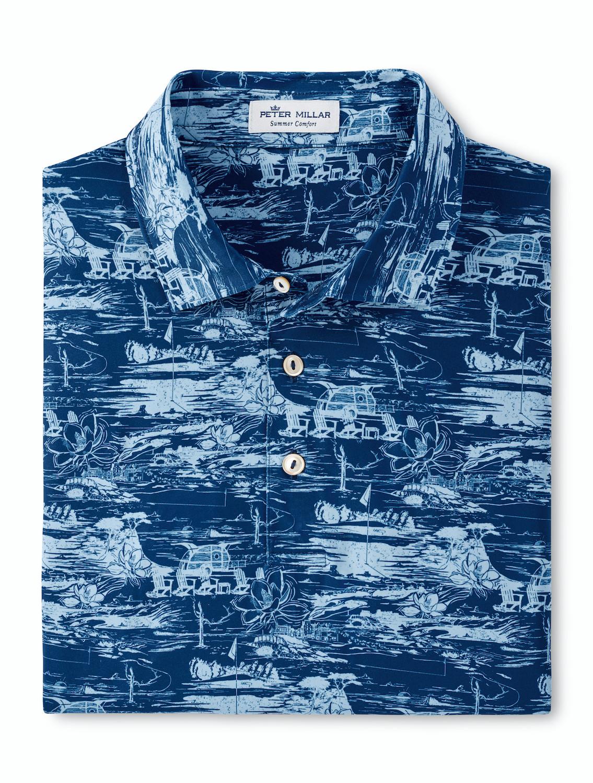 Millar Golf Landmarks Print Shirt Alone