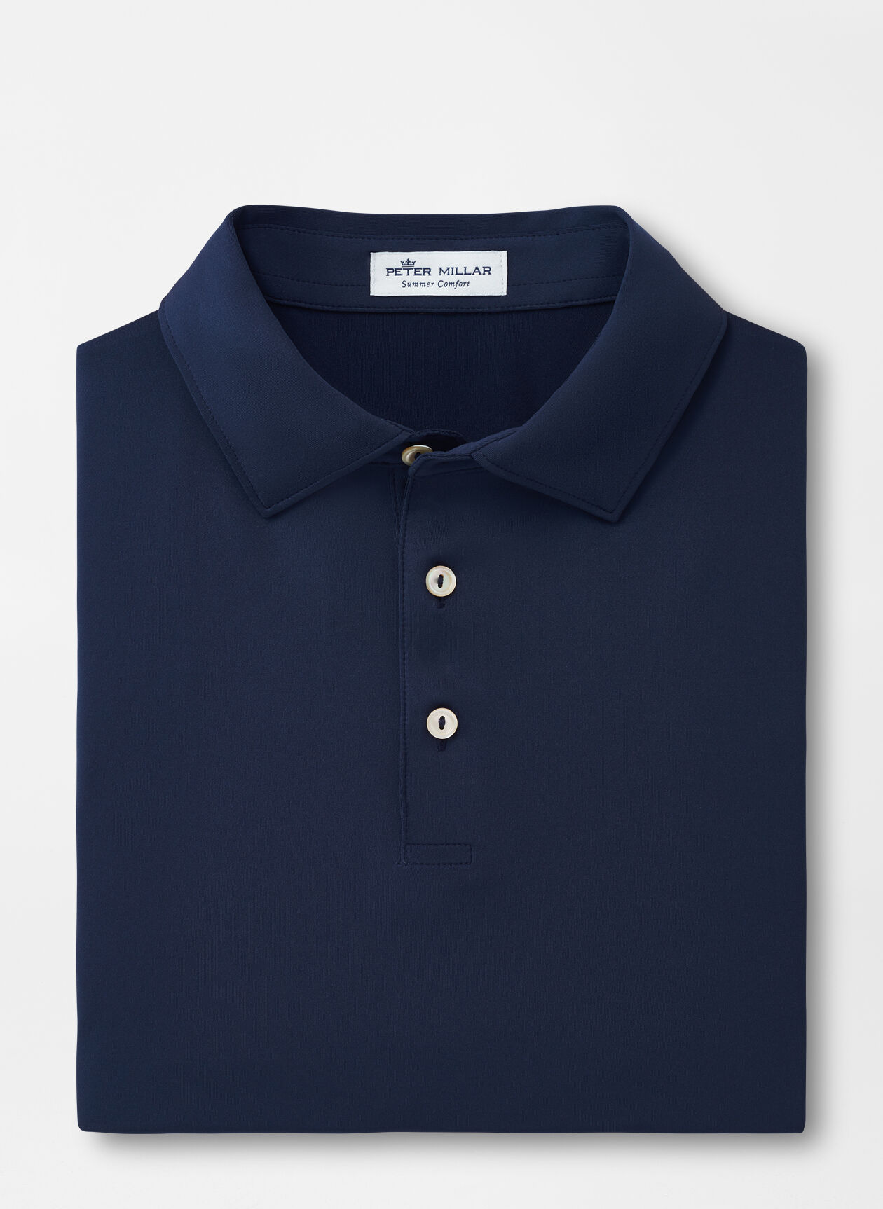 Solid Navy Shirt